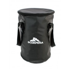 Foldable bucket with a lid 10 l