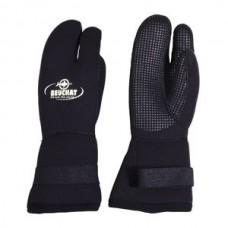 3 Finger Glove, 7 mm, titanium