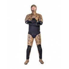 Wetsuits Scorpena C3, 5 mm, Brown camo