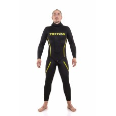 Wetsuit TRITON Smooth skin/ open cell 10mm